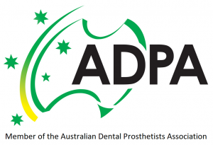 australian dental prosthetists association logo bannockburn